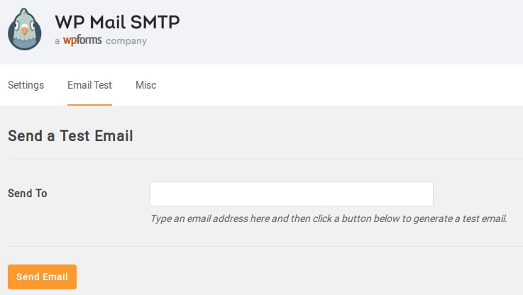 wordpress smtp plugin delivery test