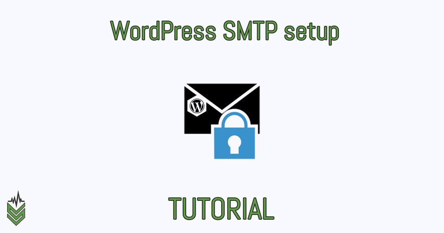 WordPress SMTP setup (tutorial)